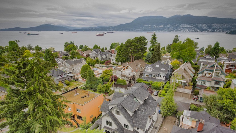 Kitsilano Point view, Vancouver, BC, Canada